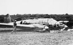 German bomber that was shoot down opposite the pub